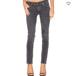 NWT AGOLDE    Chloe Low Rise Slim In Bowery Jeans